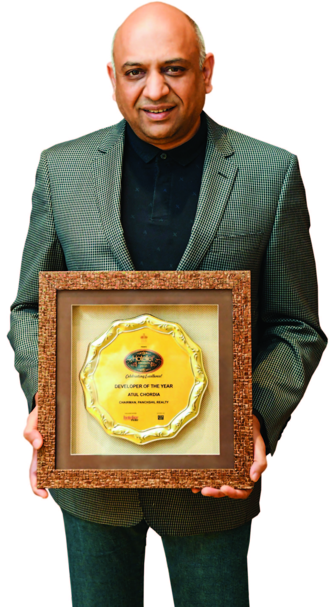 Atul Chordia, Panschil Realty, Realty industry, Ritz-Carlton Pune, 24-carat hospitality, 11th edition Hotelier India Awards, Developer of the Year, Hotelier Awards